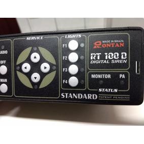 Kit Rt100d Sirene Rontan Completo Módulo Driver Corneta Orig