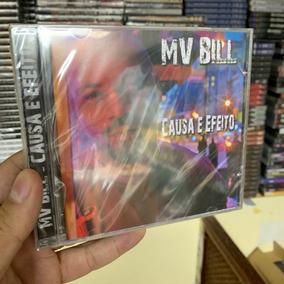 Mv Bill - Causa E Efeito (cd) Lacrado Rap Nacional