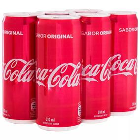 Coca-cola Lata 310ml Com 12 Unidades-melhor Preço-atacado