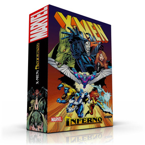 Box (caixa) Para Hqs - X-men Inferno