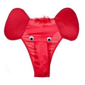 Cueca Elefante Dumbo - Sapeka - Vermelha