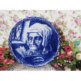 Porcelanas Chá De Anis - Medalhão Belga Delfts