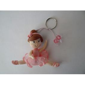 30d7bbba66f49 Chaveiro De Bailarina Em Biscuit - Artesanato no Mercado Livre Brasil
