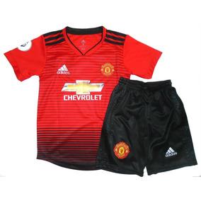Nuevo Conjunto Del Manchester United Para Niño !! 2018/19