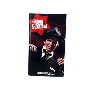 Frank Sinatra The Golden Years Livro + 2 Cd Capa Dura B5429