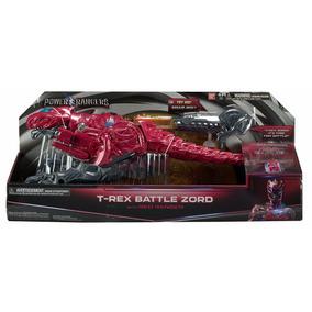 Power Ranger Zord De Batalha T- Rex + Ranger Vermelho F