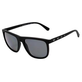 4ed323a077581 Óculos Empório Armani Ea 4001 Preto Fosco De Sol - Óculos no Mercado ...
