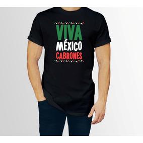 724005cc933e6 Playera Viva Mexico Grito Independencia Caballero C envio P