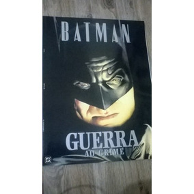 Livro Batman Guerra Ao Crime (alex Ross)