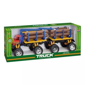 Caminhão De Brinquedo Truck Grande 75 Cm