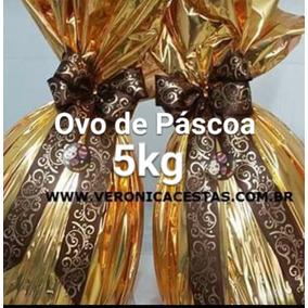 Ovos De Páscoa 5 Kg Chocolate Garoto Meio A Meio P/b