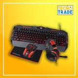 Combo 2 En 1 Gamer Meetion C500 Teclado-mouse-audifonos-pad,