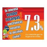 Recargas Electronicas De Tiempo Aire, Comision 7.3%