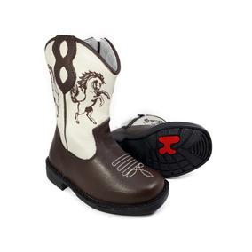 87e97fcffb089 Bota Country Infantil Texana Rodeio Cowboy Peão Kifofo 8166