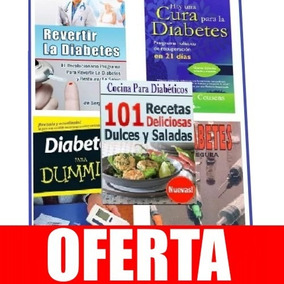 Libros De Diabetes/diabeticos En El Mejor . Paq 94