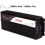 Inversor Solar Off Grid 24v P/ 110v 3000w Onda Senoidal Pura