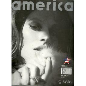 America Magazine Gisele Bundchen Frete Grátis!!!!