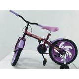 Bicicleta Aro 16 Feminina Wendy Bike