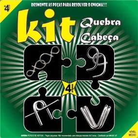 Kit Quebra Cabeça X4 - Expert