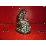 Figura Estatua Petit Bronce Firmada
