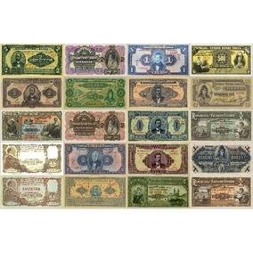 Réplica Cédulas De Réis - Coleção Completa - 206 Cédulas