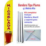 Michelada #41-x Banderas Publicitarias Kit Completo