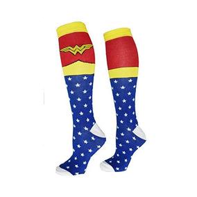 Calcetas Mujer Maravilla Wonder Woman Dc Comics Bioworld