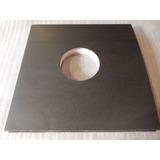 5 Fundas De Carton Negro Disco De Vinyl 12 Pul Importadas