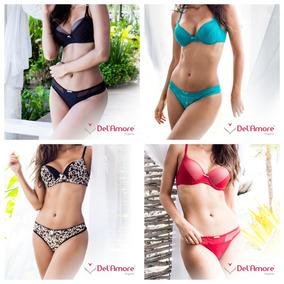 Kit Com 10 Conjuntos Femininos De Lingerie Luxo