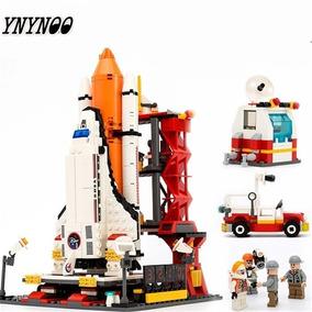 Blocos De Montar Foguete Aeroespacial Espaço Compatível Lego
