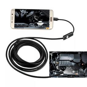 Camera Inspeção Sonda Endoscópica Android Pc Usb 2m
