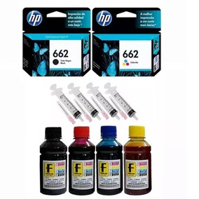 Cartuchos 662 Preto 662 Color Deskjet Ink Advantage 2546
