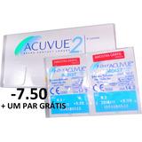 1b4cc9bded177 Lentes De Contato Acuvue 2 +7.5 - Lentes de Contato e Acessórios no ...