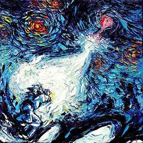 6839fe049d3a7f Anime Starry Night Art Poster Impresión Van Gogh Nunca Vi U