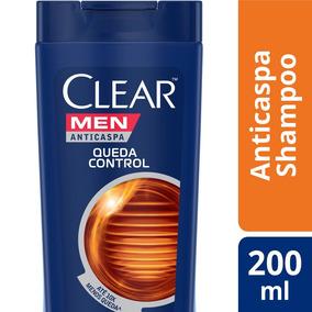 Shampoo Anticaspa Clear Men Controle Da Queda 200ml