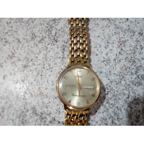 Relógio Mido Banhado Ouro