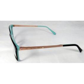 18b2063bed2af Armacao Oculos De Grau Tiffany Verde - Óculos no Mercado Livre Brasil