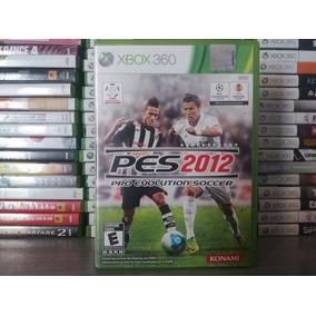Jogo De Futebol Pes 2012 Original Xbox 360 Mídia Português..