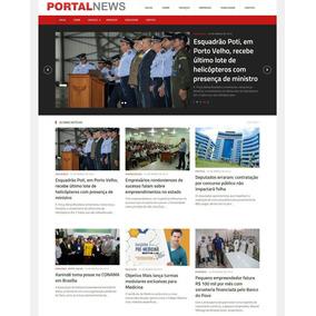 Portal De Noticias Layout Ou - Informática no Mercado Livre Brasil 196496510d412