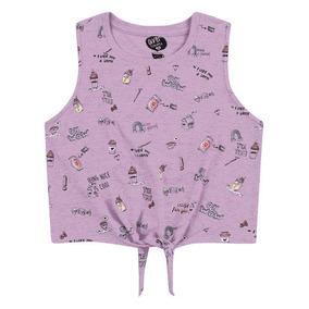 Roupa Infantil - Blusa Feminina Tamanho 12