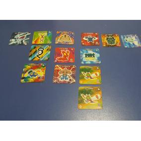 Lote Tazos Pokemon Elma Chips (13 Unidades)