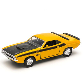 Dodge Challenger Rt 1970 Welly Metal Raridade Muscle