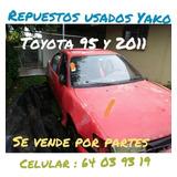 Repuestos Usados Toyota Corolla