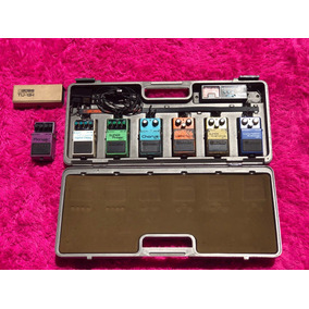 Set De Pedais Boss Made In Japan Pedalboard Sd1 Ce2