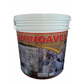 Para Ração De Aves Aminoaves Agrocave Núcleo Frangos 10kg