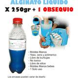 Alginato Liquido X250gr Moldes Manos Pies