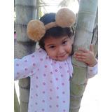 Bellos Cintillos De Pompones Para Bebes Niñas 2a715653c68