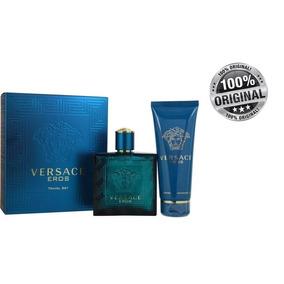 Estuche Versace Eros 100ml Hombre Eau De Toilette Original