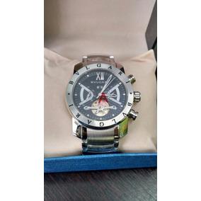 9585134af3f16 Relógio Bv Iron Man Prata F  Preto Original