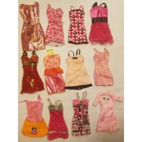 Hermosos Vestidos Mattel Para Muñeca Barbie 6x$20